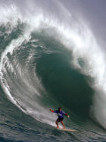 Big Wave Surfing  Waimea Bay  Hawaii