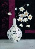 Jarrones con Flores Blancas I