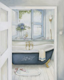 Blue Hydrangea Bath