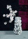Jarrones con Flores Blancas II
