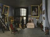 Bazille's Studio  c1870