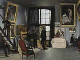 Bazille&#39;s Studio  c1870