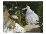 Women in the Garden  c1867