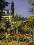 Garden in Bloom  c1866