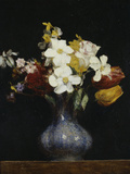 Daffodils and Tulips  c1862