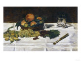 Still-Life with Fruit on a Table  c1864