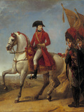 Equestrian Portrait of Napoelon Bonaparte  c1803