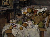 Still-Life with Fruit Basket  c1888