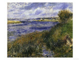 The Seine at Champrosay  c1876