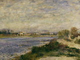 The Seine at Argenteuil  c1873