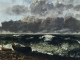 Stormy Sea or The Wave  c1870