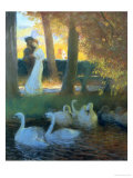 Lovers and Swans
