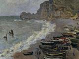 Etretat  The Beach  c1883