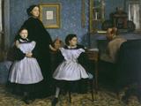 The Bellelli Family  c1858