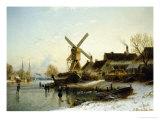 Village in Mid-Winter
