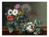 Still Life of Flowers in a Glass
