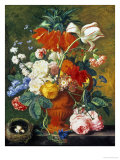 Vase of Rich Summer Flowers