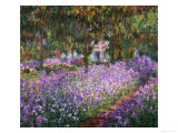 The Artist&#39;s Garden at Giverny  1900