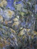Rocks near the Caves above Chateau Noir  c1904