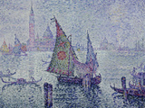 The Green Sail  Venice  c1902