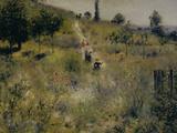 Chemin Montant dans les Hautes Herbes  c1876
