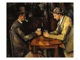 The Card Players  c1890