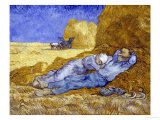 Midday Rest (after Millet)  c1890