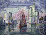 The Port of la Rochelle  c1921