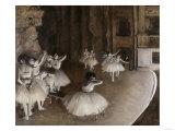 Ballet Rehearsal  c1874