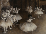 Ballet Rehearsal  c1874