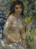 Female Nude in the Sun  c1875