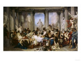 The Romans of Decadence  c1847