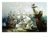 The Battle of Trafalgar  c1875