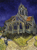 The Church in Auvers-Sur-Oise, c.1890 Reproduction d'art par Vincent Van Gogh