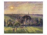 Landscape at Eragny  c1895