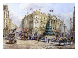 Piccadilly Circus and Shaftesbury Avenue