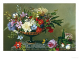 Still Life of Anemones and Roses