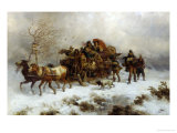 Sleigh Ride in Blustery Weather