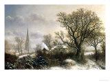 Yardley Church  near Birmingham  in the Snow