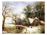 Meeting on the Bridge  Winter