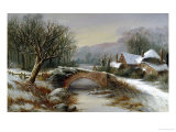 Bridge Cottage  Winter