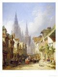 Street Market  Rouen