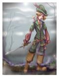 Peter Pan and Tinkerbell