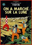 On a marché sur la Lune (1954) Reproduction encadrée par Hergé (Georges Rémi)