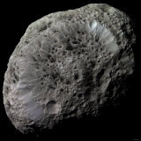 False-Color View of Saturn's Moon Hyperion