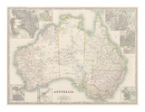 Australia Map 1880