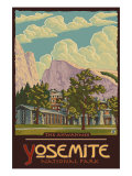 Ahwahnee Lodge  Yosemite National Park  California