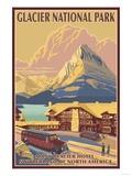 Many Glacier Hotel  Glacier National Park  Montana