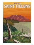 Scenic Mount St Helens  Washington