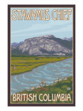 Stawamus Chief  Squamish  British Columbia  Canada